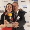 Vicente Berbegal, Millor Empresari Europeu/Imatge via twitter d'Actiu