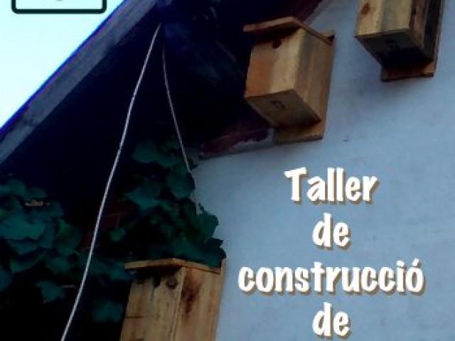 Vine al taller per a aprendre a construir caixes niu per a teuladins en el local de la Colla Ecologista La Carrasca d'Alcoi