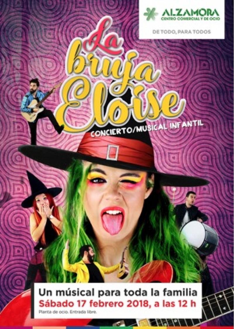 Vine a vorer el musical familiar 'La Bruixa Eloise' al Centre Comercial Alzamora d'Alcoi