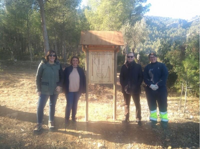 Visita l'Àrea de descans la Querola a la Serra de Mariola / Ajuntament de Muro