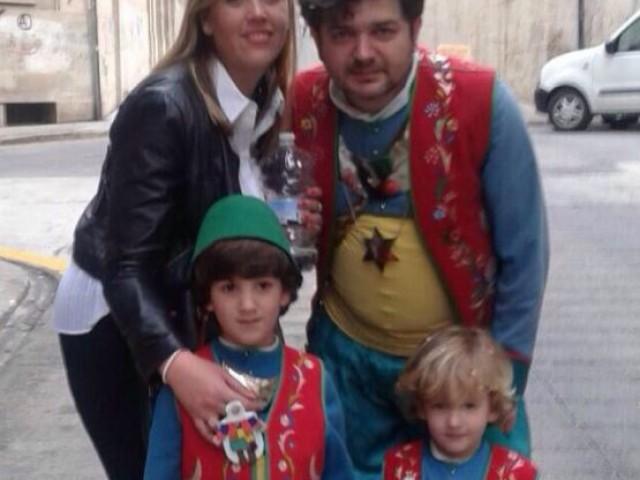 El Sant Jordiet i la seua familia