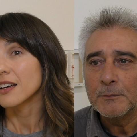 Parlem amb els candidats de Guanyar Alcoi durant la cloenda de la campanya de primàries