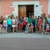 Una representació de la comunitat educativa del CEIP Sant Joan Bosco va estar present al Plenari Municipal./ Aj. Cocentaina