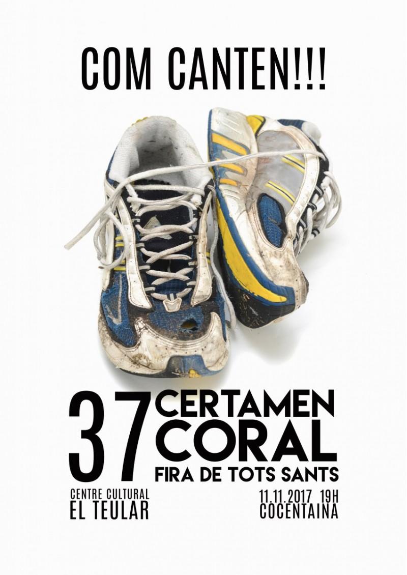 La 37 Edició del Certamen Coral Fira de Tots Sants de Cocentaina presenta el seu cartell / Raúl Belda