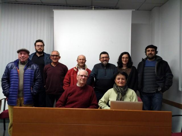 Membres de la junta directiva.