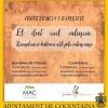 La necessitat de recuperar el Dret Civil Valencià: conferència a Cocentaina