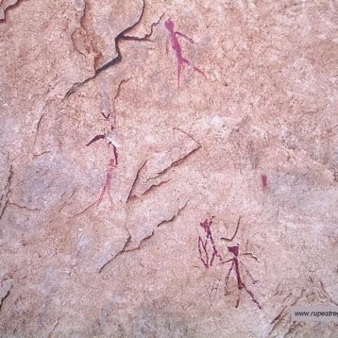 Pintures rupestres de Benirrama//Via Wikiloc