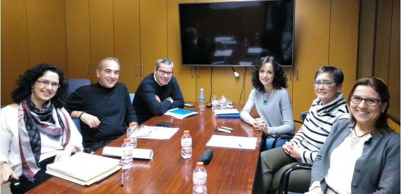 Reunió entre tècnics de Diputació i de l'Ajuntament de Cocentaina