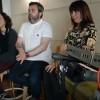 Les 'Júlia' i Raül Llopis al nou estudi / AM