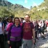 El regidor de Medi Ambient, Eli Pérez, i l'alcaldessa de Muro Jacqueline Cerdá