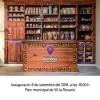 Cartell de la inauguració del Museu de la Farmàcia
