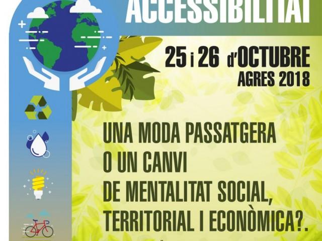 Agres acull les Jornades de Sostenibilitat i Accessibilitat aquests 25 i 26 d'octubre