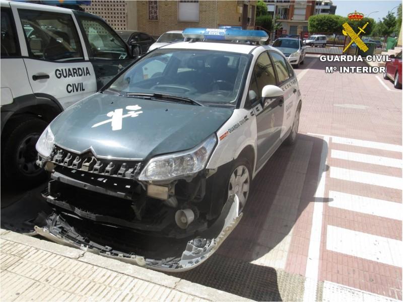 Vehicle de la Guàrdia Civil/Facilitat per Guàrdia Civil d'Alacant