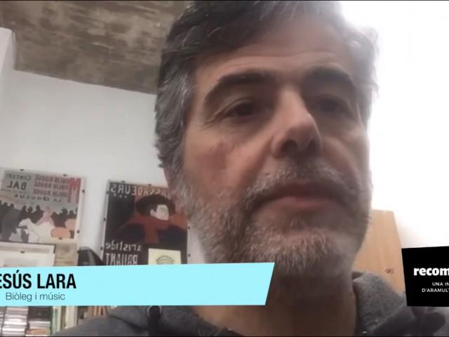 Jesús Lara, músic i biòleg./ AM