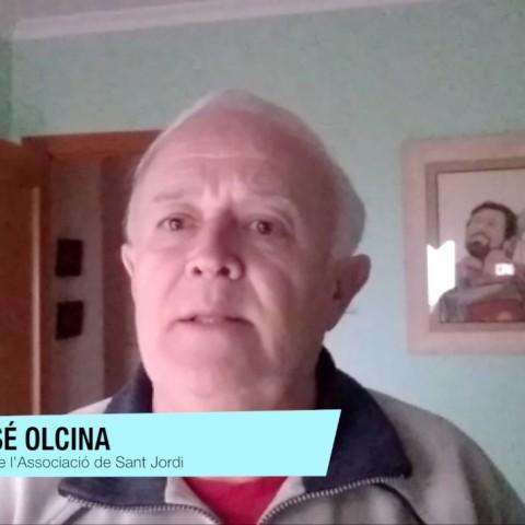 Juan José Olcina és el president de l'Associació de Sant Jordi d'Alcoi./ AM