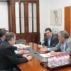 Els tràmits es van iniciar amb la visita a Alcoi del Secretari Autonòmic d'Educació i Investigació, Miquel Soler.
